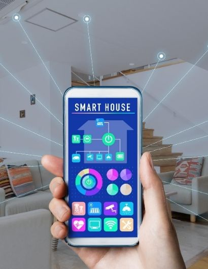 User interface of Smart home concept