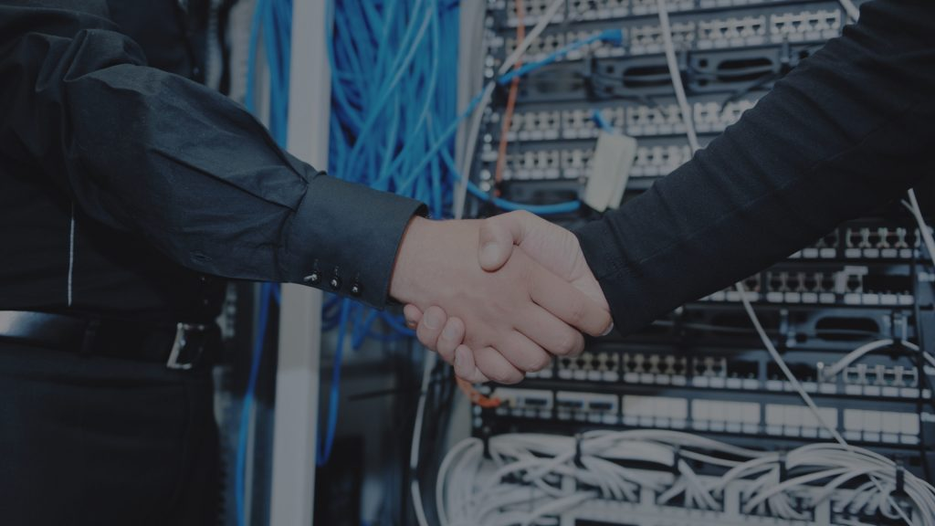 IT Engineer in Network Server Room